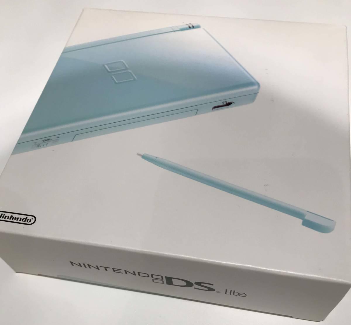 任天堂 nitendo DS Lite ほとんど使っていないままの本体/ Nintendo Switch や 3DS wii U などゲーム好きな方にどうぞ!ただ一つだけ…