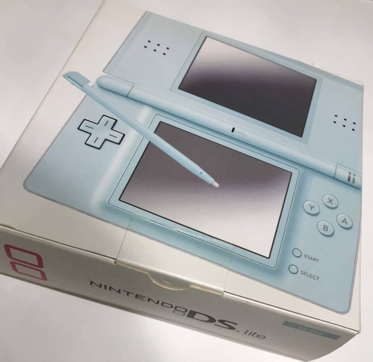任天堂 nitendo DS Lite ほとんど使っていないままの本体/ Nintendo Switch や 3DS wii U などゲーム好きな方にどうぞ!ただ一つだけ…_画像2