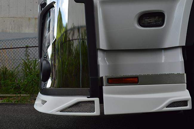 H-LINE from type 4 debut front spoiler (3P) original same installation