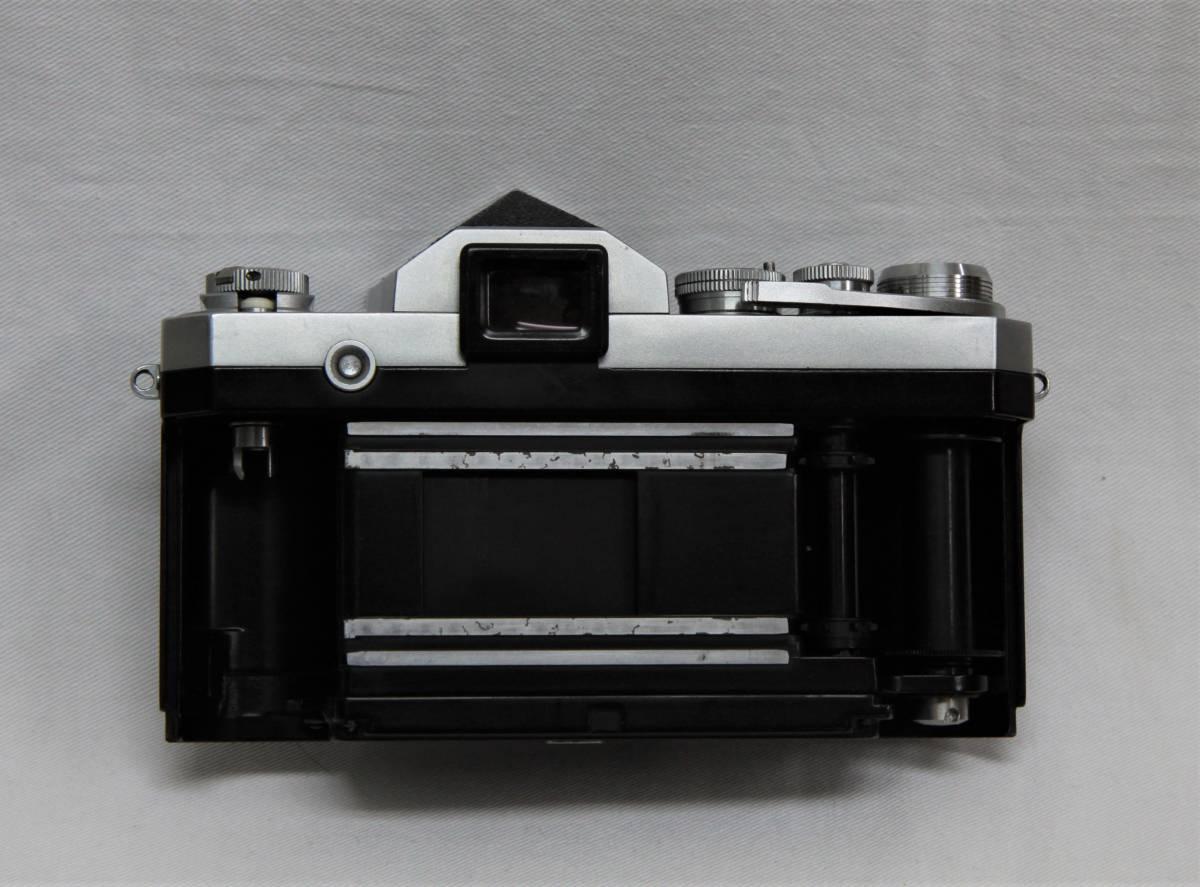 Nikon F アイレベル 643万台 NIKKOR-S Auto 1:1.4 f=5.8cm 露出計付き_画像8