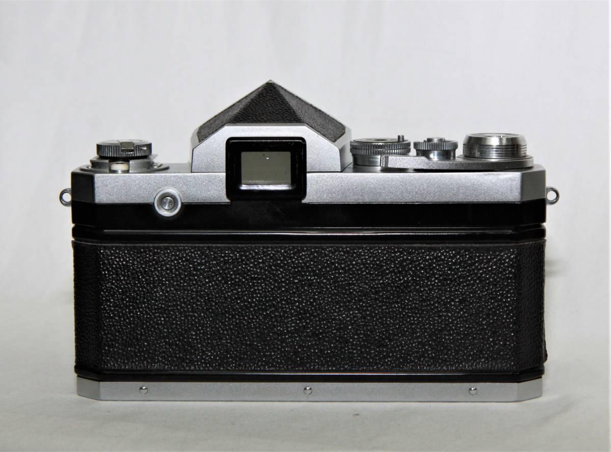 Nikon F アイレベル 643万台 NIKKOR-S Auto 1:1.4 f=5.8cm 露出計付き_画像3