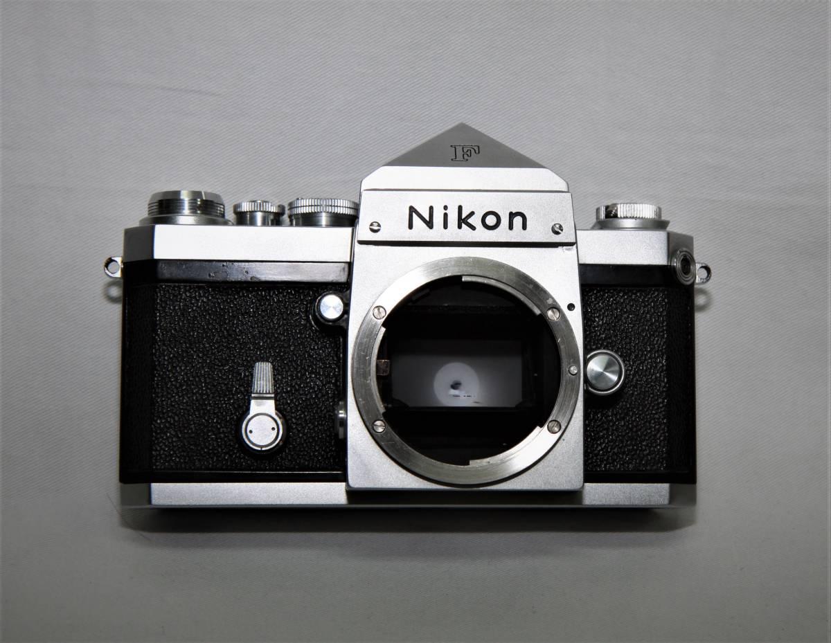 Nikon F アイレベル 643万台 NIKKOR-S Auto 1:1.4 f=5.8cm 露出計付き_画像6