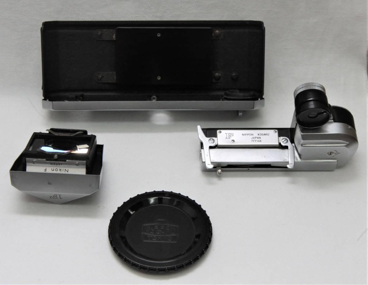 Nikon F アイレベル 643万台 NIKKOR-S Auto 1:1.4 f=5.8cm 露出計付き_画像10