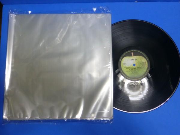 【レコード外袋】12インチLP用 薄口 200枚セット クリアーパック PP袋 透明 ビニール 0.06/325×330_画像1