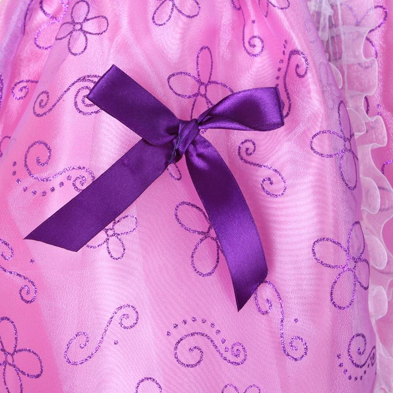★新品★送料250円 110 ディズニー 可愛い ソフィア コスプレ衣装 ドレス ワンピース ハロウィン 女の子 プリンセス_画像5