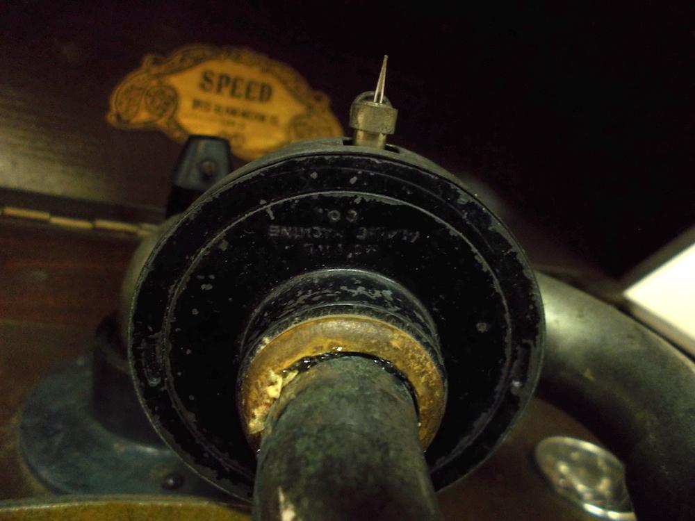 ◆古い宮型蓄音機◆SPEED NO.5.◆◆アンティーク_画像6