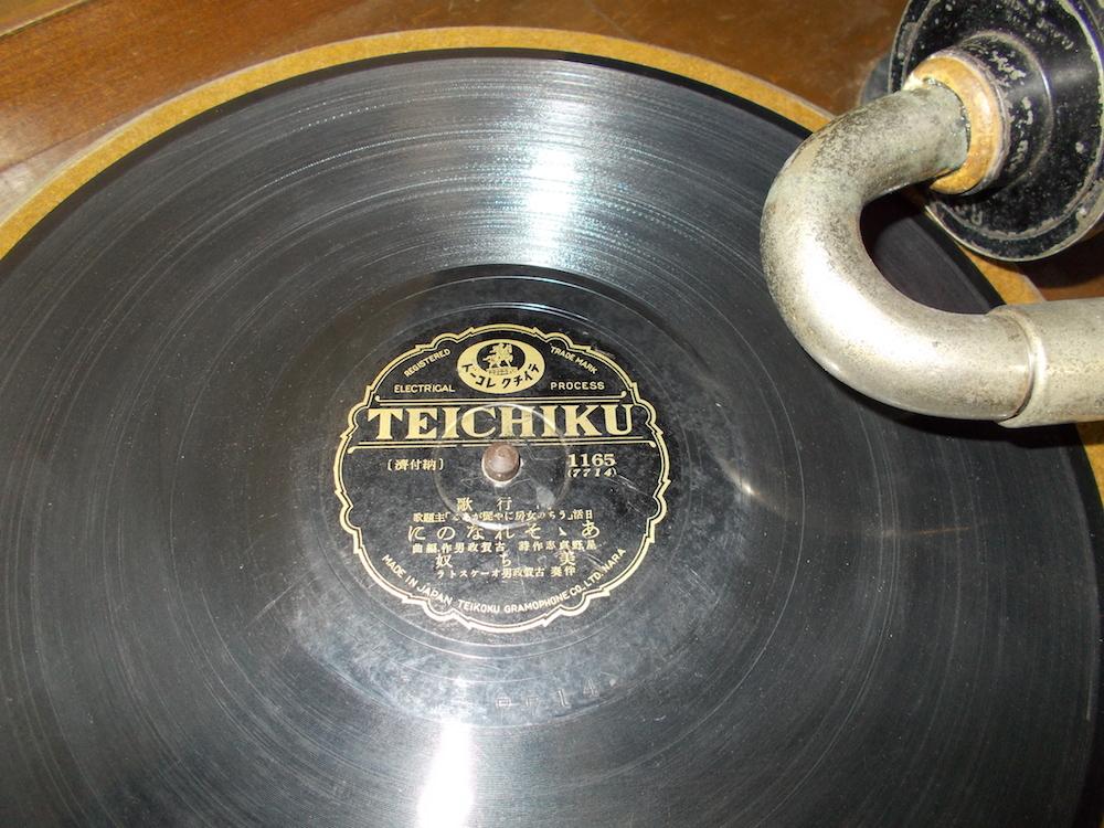 ◆古い宮型蓄音機◆SPEED NO.5.◆◆アンティーク_画像8