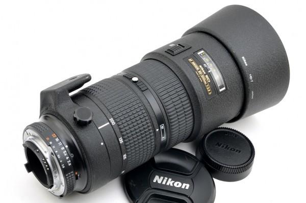 【良品】Nikon AF NIKKOR 80-200mm F2.8D ED 人気の大口径望遠ズームレンズ #2553_画像7