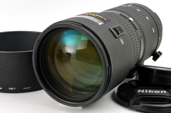 【良品】Nikon AF NIKKOR 80-200mm F2.8D ED 人気の大口径望遠ズームレンズ #2553_動作良好/外観系綺麗。