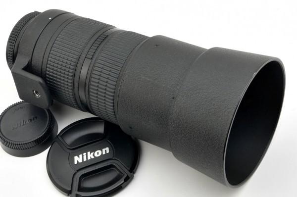【良品】Nikon AF NIKKOR 80-200mm F2.8D ED 人気の大口径望遠ズームレンズ #2553_画像8