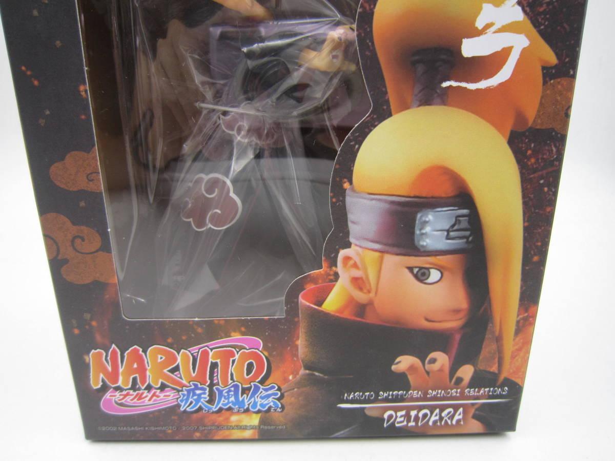 即決 新品 未開封 Naruto ナルト 疾風伝 シノビリレーションズ Shinobi Relations 08 デイダラ フィギュア 海外版 バンプレスト Banpresto_画像2