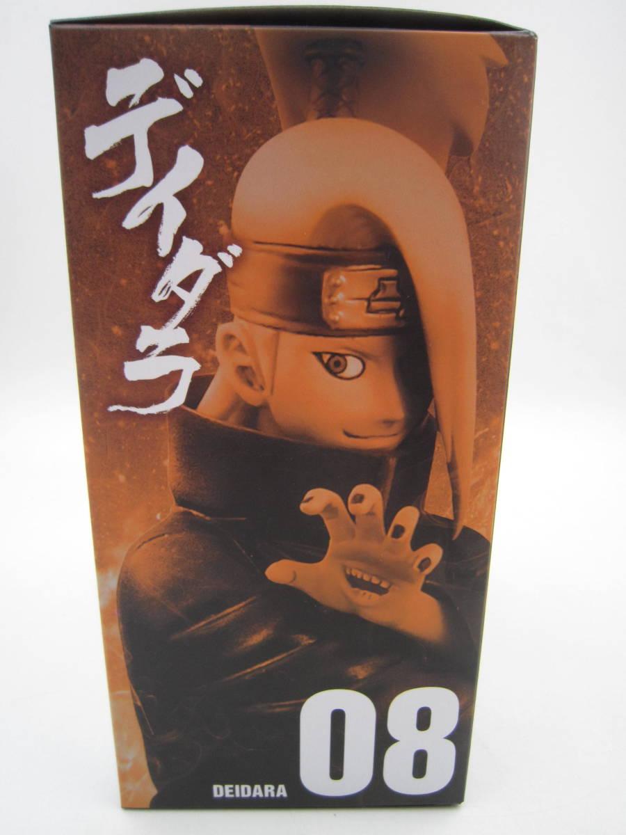 即決 新品 未開封 Naruto ナルト 疾風伝 シノビリレーションズ Shinobi Relations 08 デイダラ フィギュア 海外版 バンプレスト Banpresto_画像6