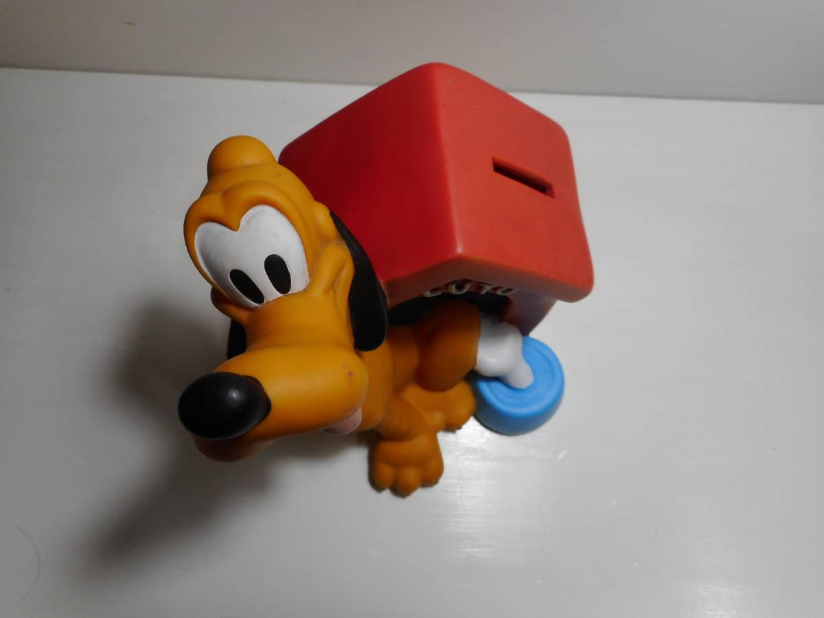 PLUTO COIN BANK TOY ディズニー オールド プルート アメリカ USA買い付け品 キャラクタードール 貯金箱 当時物 オールド _画像8