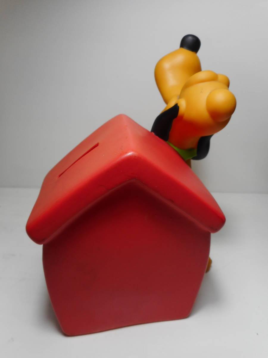 PLUTO COIN BANK TOY ディズニー オールド プルート アメリカ USA買い付け品 キャラクタードール 貯金箱 当時物 オールド _画像4