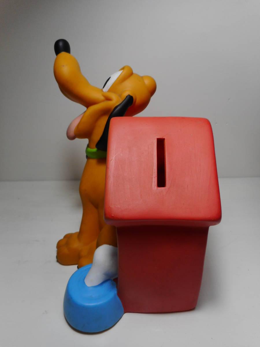 PLUTO COIN BANK TOY ディズニー オールド プルート アメリカ USA買い付け品 キャラクタードール 貯金箱 当時物 オールド _画像3