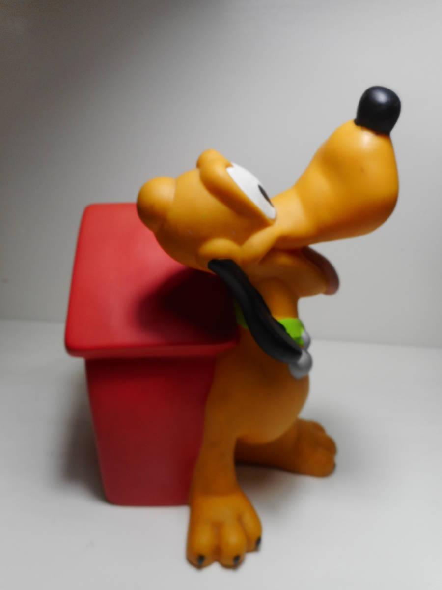 PLUTO COIN BANK TOY ディズニー オールド プルート アメリカ USA買い付け品 キャラクタードール 貯金箱 当時物 オールド _画像5