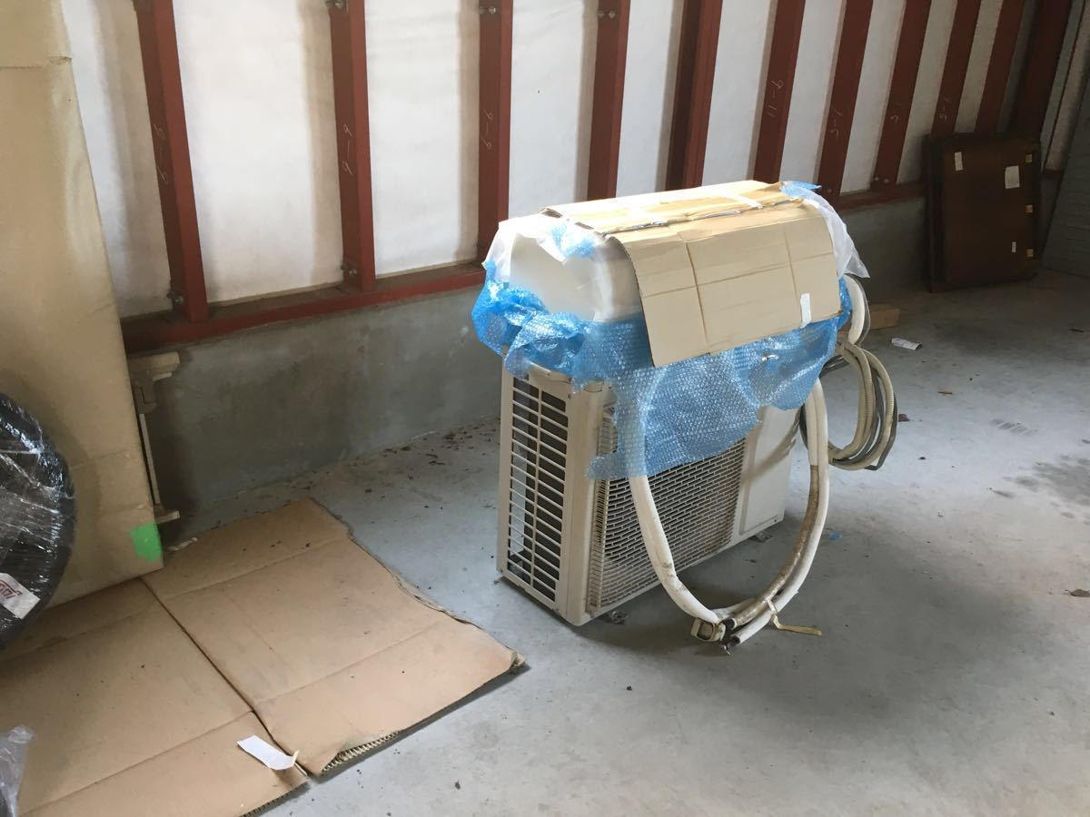 2021年8月7日までヤマダ電機保証あり 美品 パナソニックインバーター冷暖房除湿タイプ自動おそうじルームエアコン CS-281CXR 8~12畳_画像9