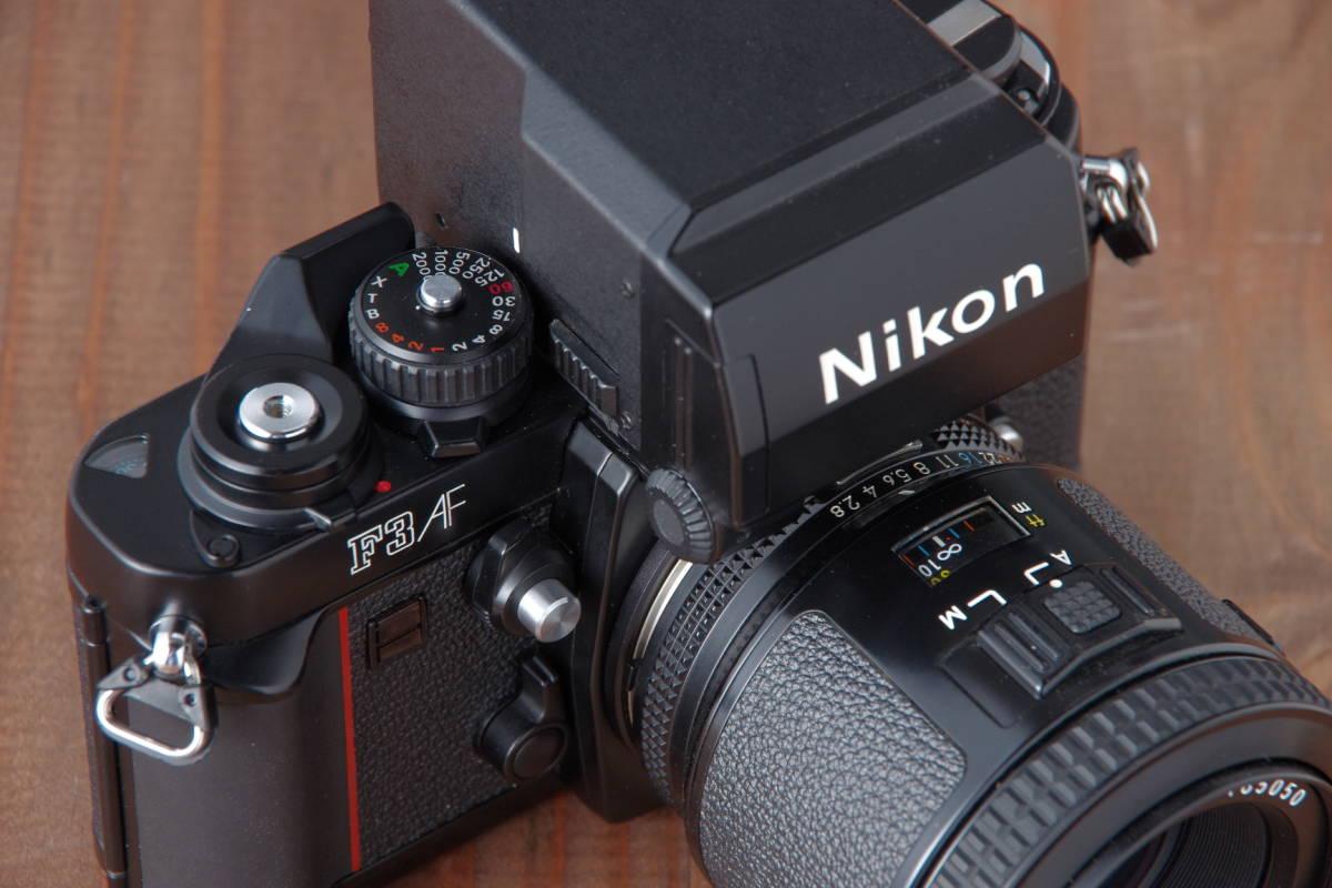 Nikon F3AF & AF-NIKKOR 80mm F2.8_画像2
