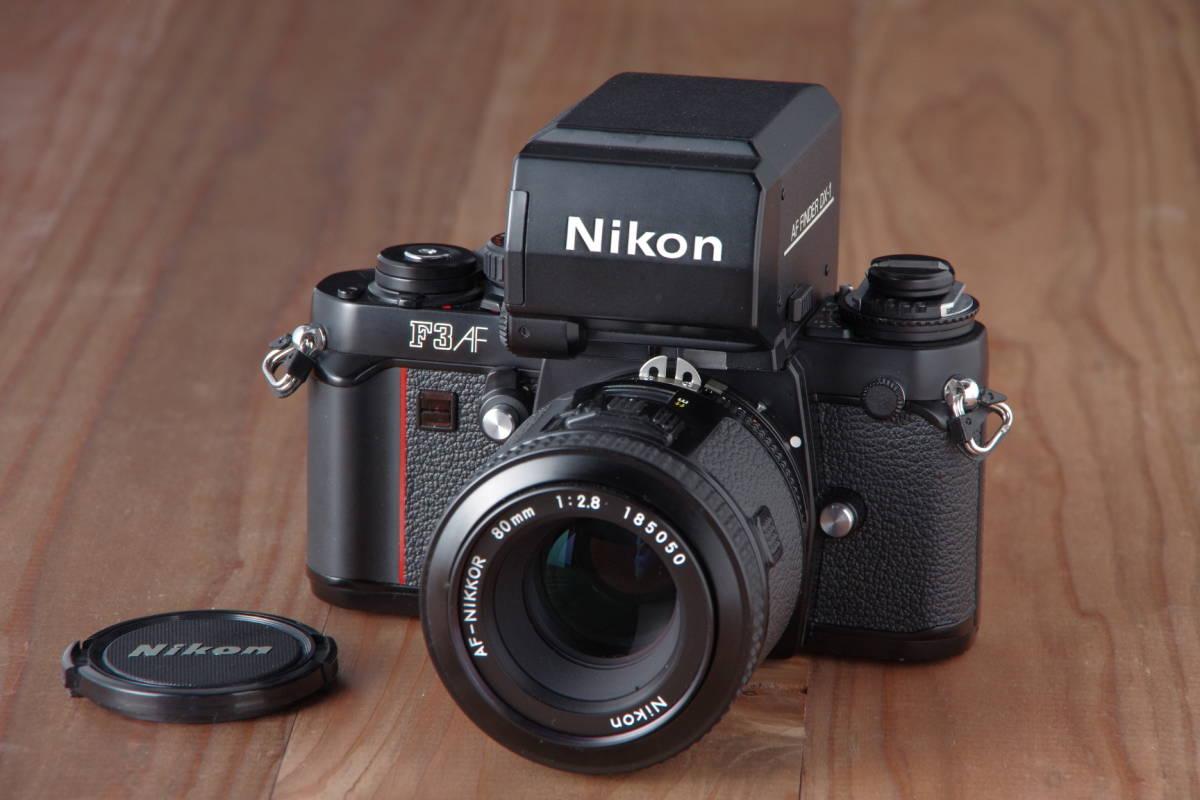Nikon F3AF & AF-NIKKOR 80mm F2.8