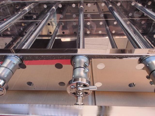 即落札 新品未使用 業務用 鉄板焼器 間口900×550 グリラー用 ガス器具のみ LPガス専用 人気のサイズ プロパンガス専用 カンテキのみ_画像10