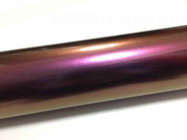カーラッピングシート マジョーラカラー 紫 パープル 縦x横 152cmx100cm スキージ付き SHF05 外装 内装 耐熱 耐水 裏溝付 DIY_画像2