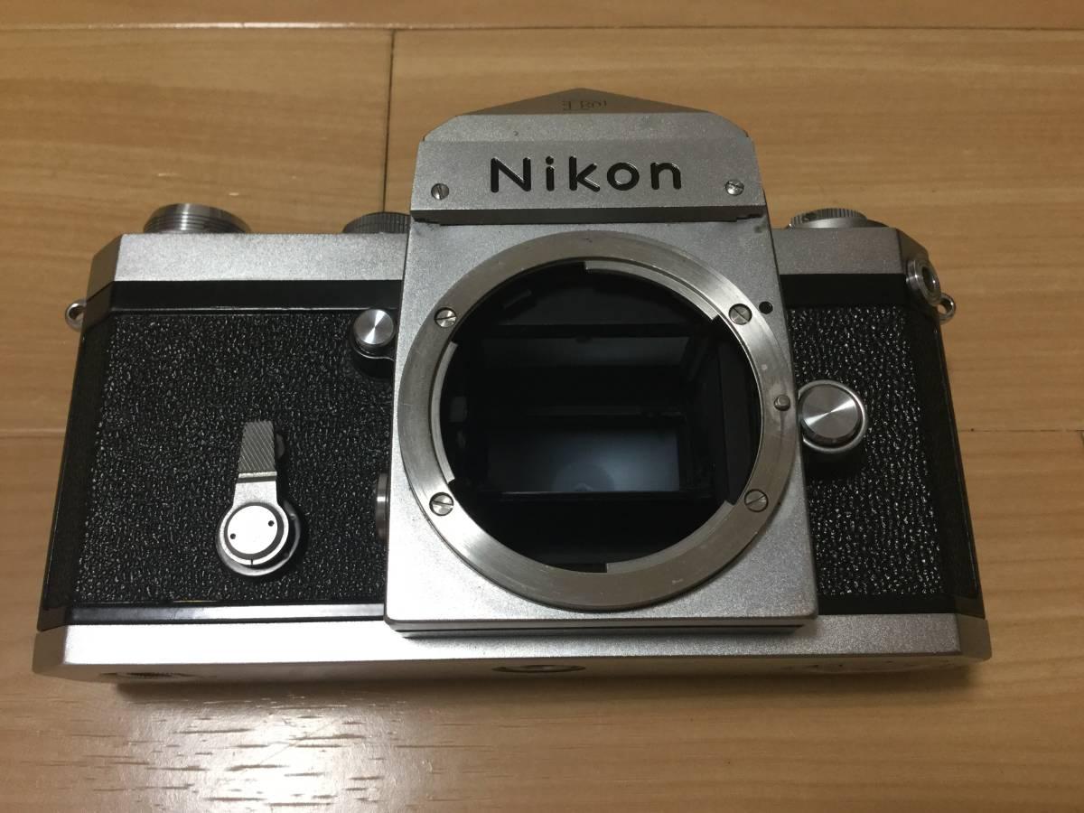 Nikon F アイレベル 640万台 NIKKOR-S Auto 1:2 f=5cm 9枚羽 露出計付き_画像2