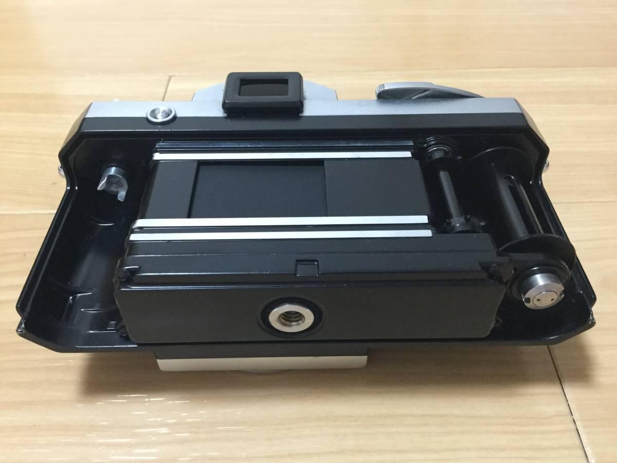 Nikon F アイレベル 640万台 NIKKOR-S Auto 1:2 f=5cm 9枚羽 露出計付き_画像4