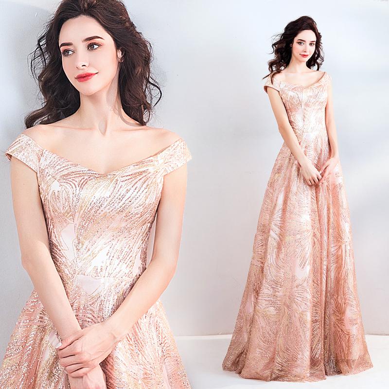 素敵なカラードレス 結婚式 披露宴 お色直し 二次会 パーティー 演奏会 発表会 ステージ衣装 TS508_画像1