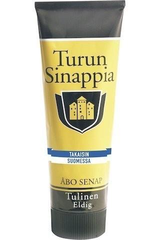 Turun Sinappia Tulinen トゥルン マスタード 辛口 275g X 6本セット マスタード からし フィンランドのマスタードです_画像1