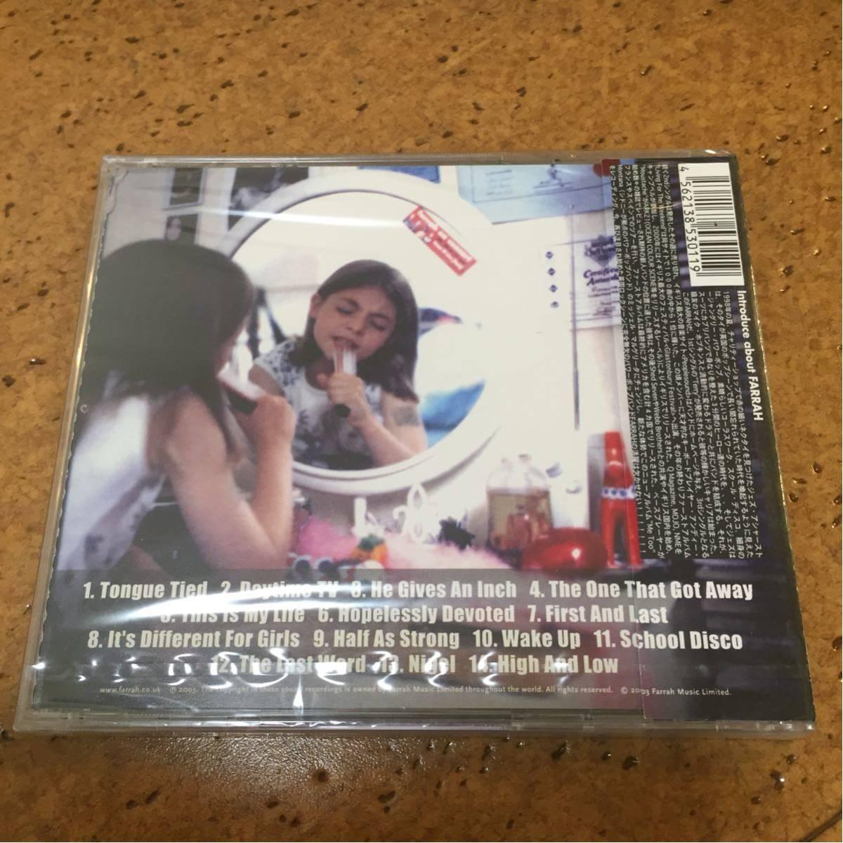 FARRAH / ME TOO 国内盤 Indie Rock ギターポップ CD 1977 RECORDS 70's punk power pop パワーポップ
