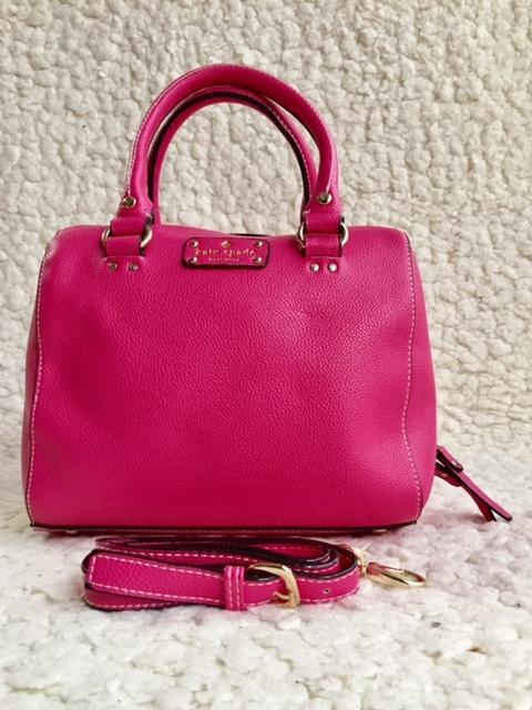 【未使用】 Kate spade  ケイトスペード レザー トートバッグ ハンドバッグ ピンク