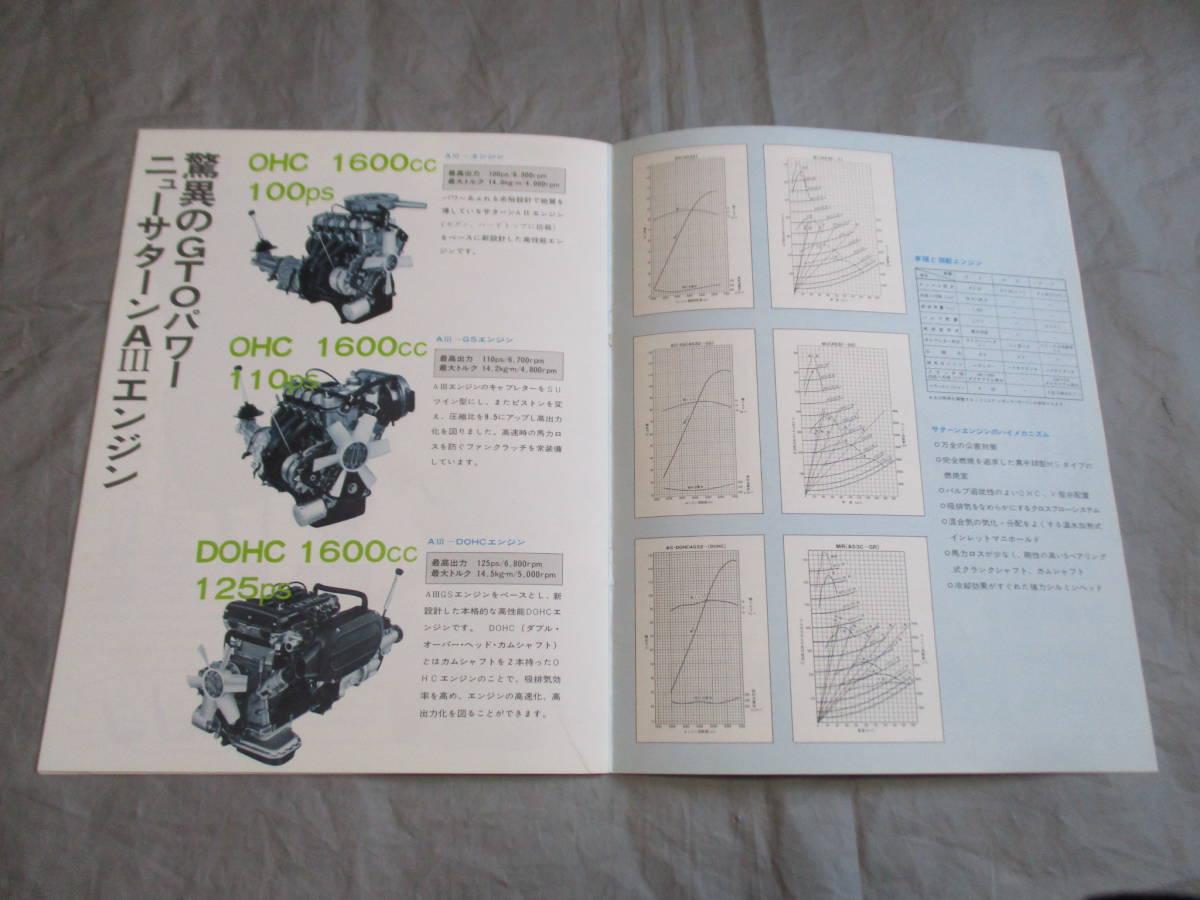 三菱 ギャラン GTO FANTASY OFGTO カタログ 昭和レトロ 全14ページ_画像6