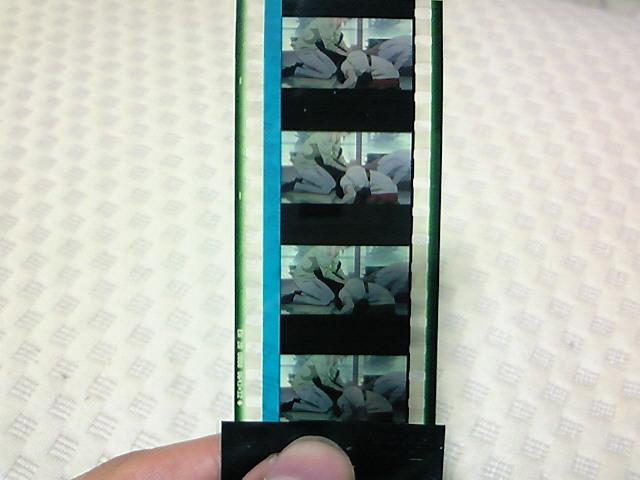 美品 聲の形 入場特典 フィルム 西宮結絃 石田美也子 西宮八重子 病院 シーン 非売品 山田尚子 京都アニメーション _画像1