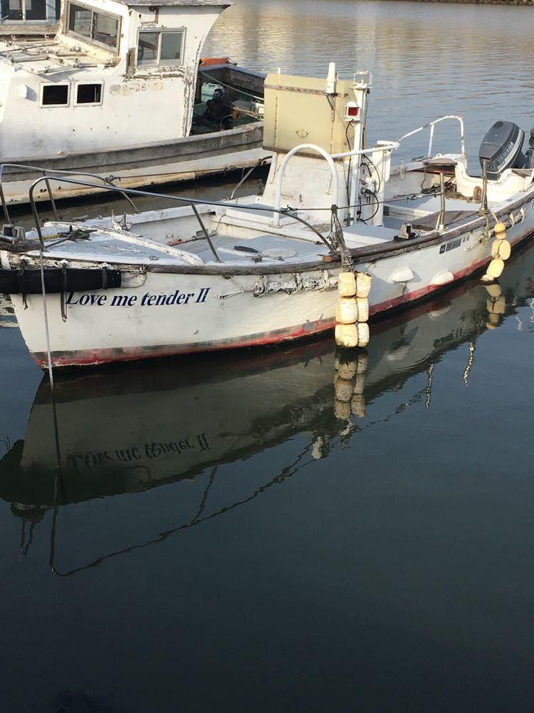 軍隊用の船です!エンジンヤマハ60馬力