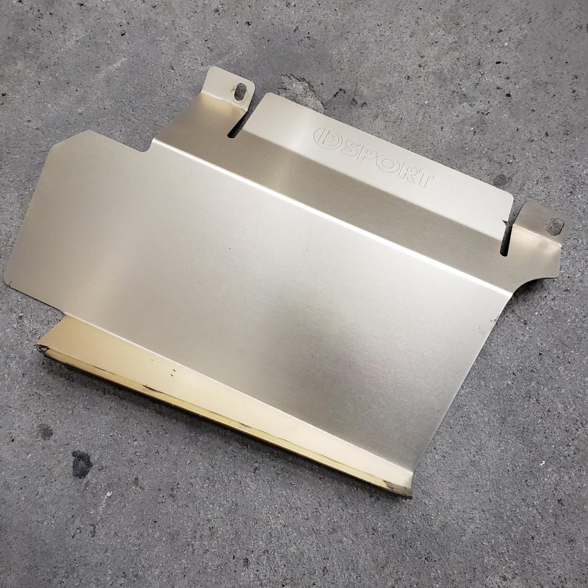【D SPORT】ラジエタークーリングパネル コペン L880K 美品 刻印入り 激安 売り切り!