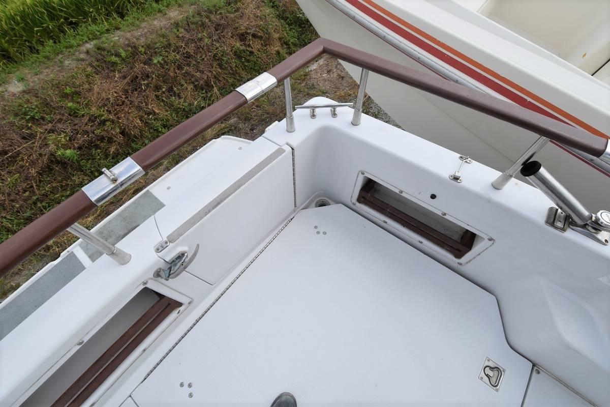 ☆★船屋.com 整備済良質艇!!☆★NISSAN GS800 AD41DP×2基掛け!!_画像7