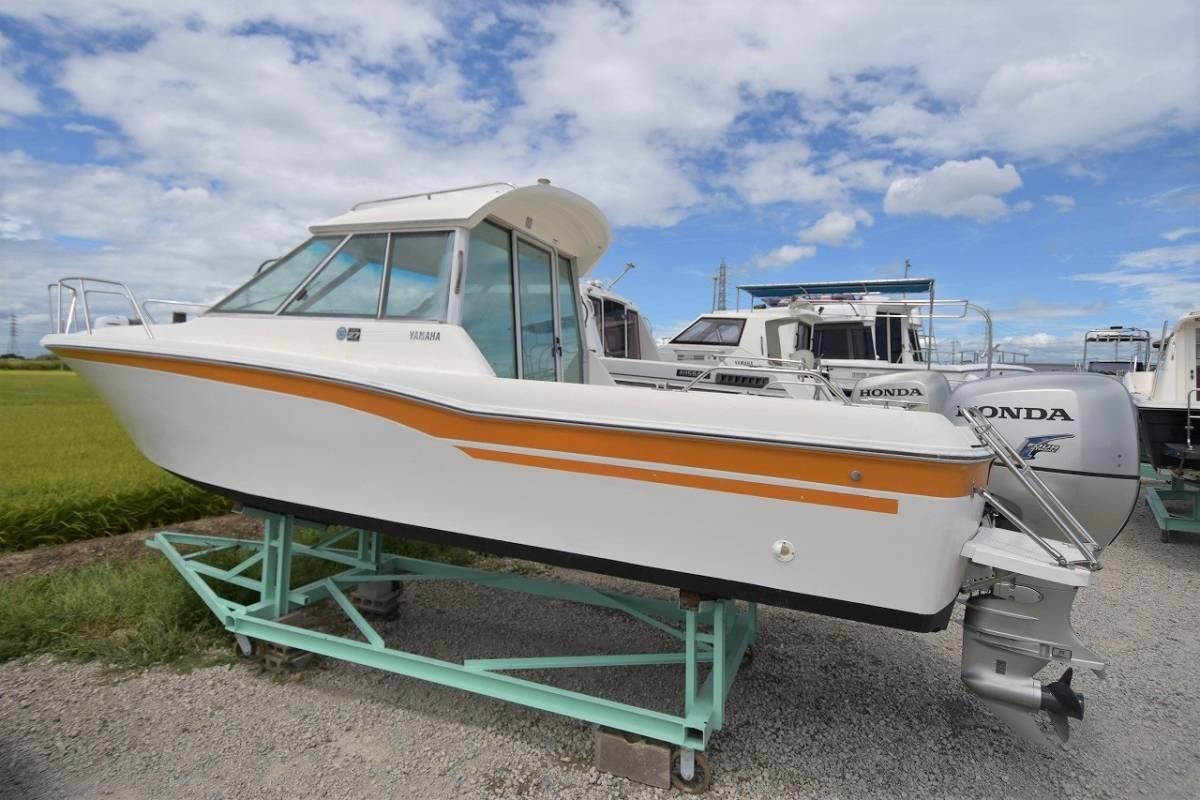 ☆★船屋.com 整備済良質艇!!☆★YAMAHA FC-24 ホンダ平成20年製造150ps!!_画像5
