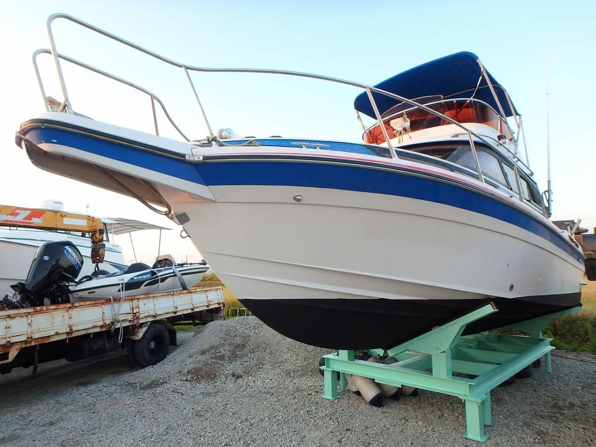 ☆★船屋.com 整備済良質艇!!☆★NISSAN GS800 AD41DP×2基掛け!!_画像2