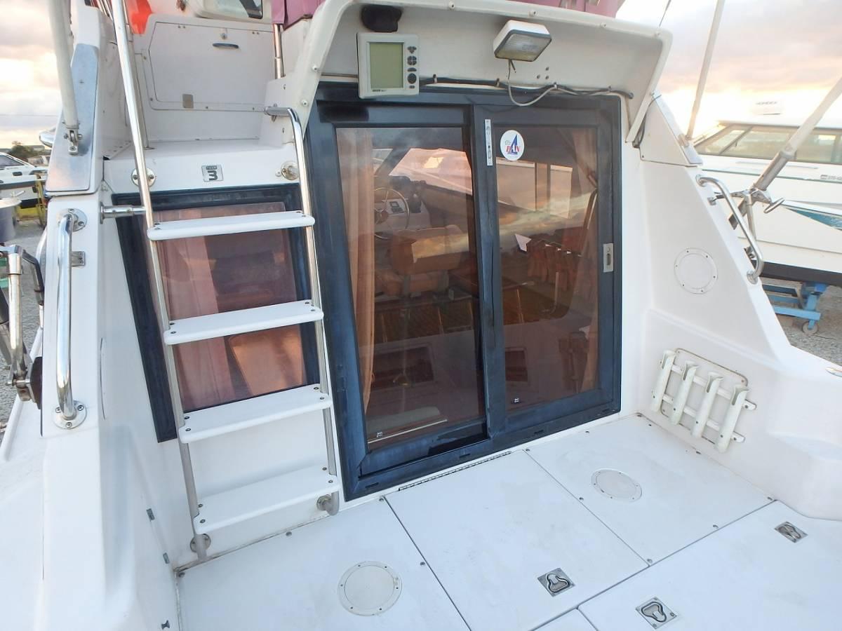 ☆★船屋.com 整備済良質艇!!☆★NISSAN GS800 AD41DP×2基掛け!!_画像9