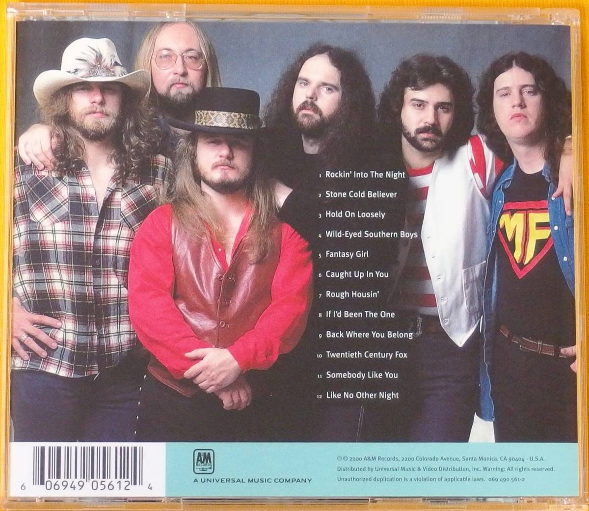 38 Special, The Best of: Millennium Collection 20th Century Masters 輸入盤CD中古美品_画像2