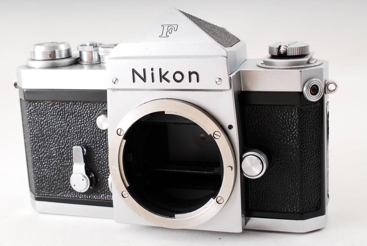 ★極上級!!★ニコン Nikon F アイレベル シルバー ★経年を感じさせない美しい外観!! 動作絶好調です!! #413A