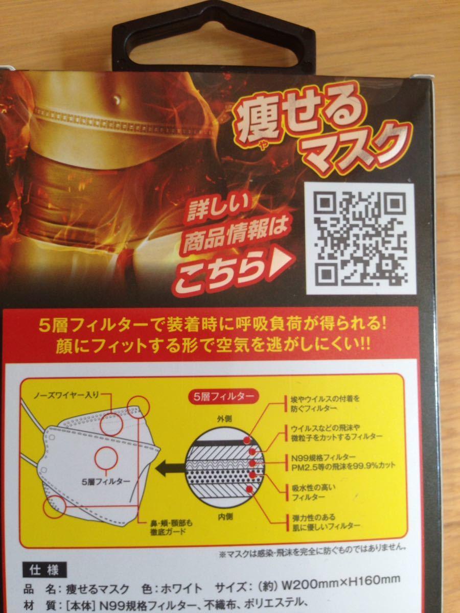 新品 未使用 自宅保管品 痩せるマスク 10枚セット ダイエット 代謝アップ PM2.5対応 ウイルス 花粉 ほこり 99.9%カット_画像6