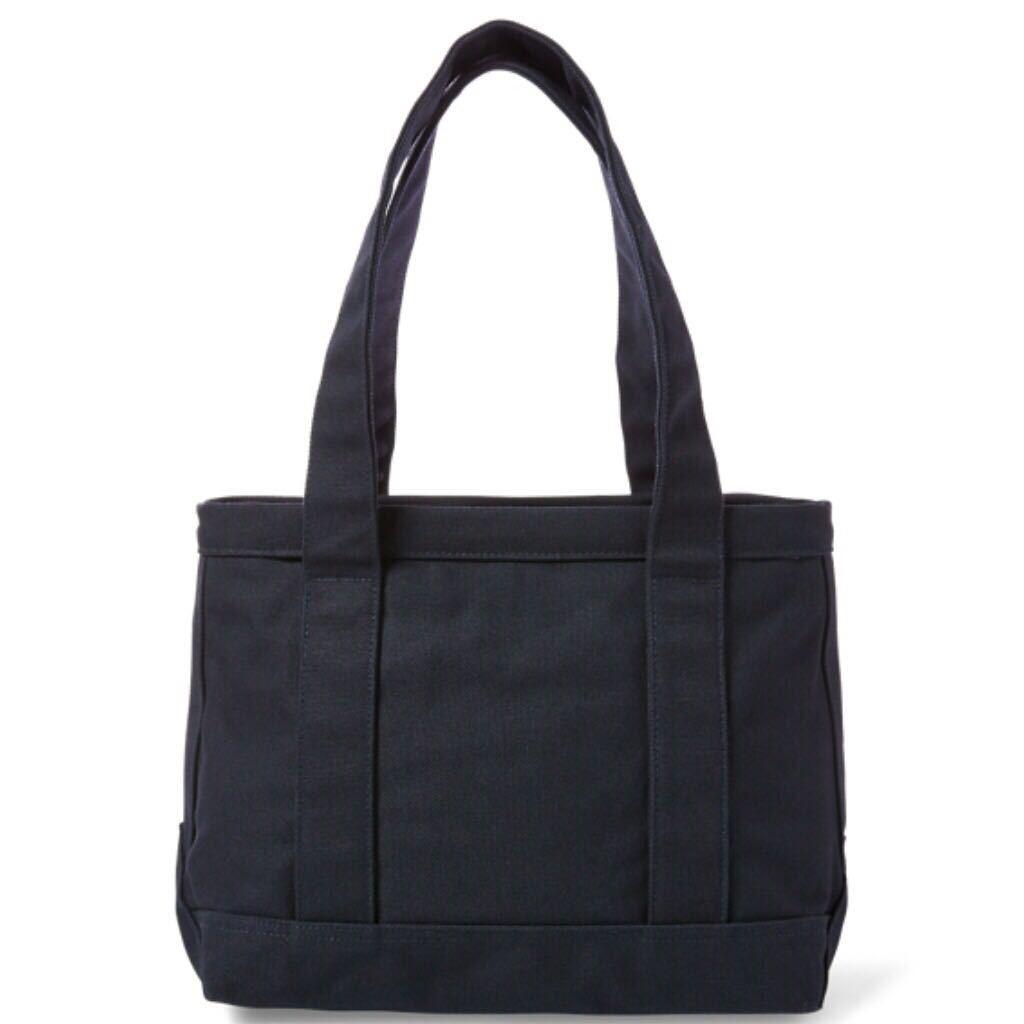 7e1b080fea5a new goods   Ralph Lauren Polo Bear - canvas tote bag navy blue color NAVY M  medium size POLO Ralph lauren