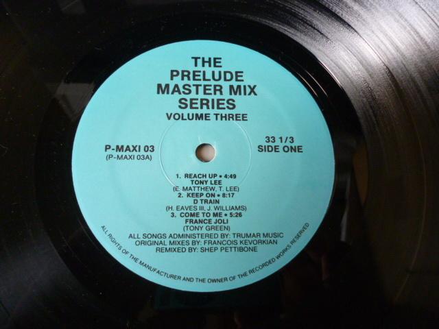 VA / The Prelude Master Mix Series - Vol.3 GARAGE CLASSIC 名曲多数12EP D Train / France Joli / Hi-Gloss / Theo Vaness 試聴
