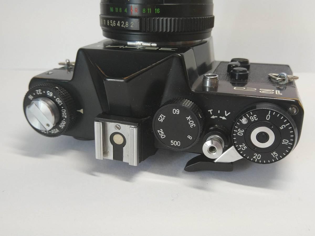 一眼レフゼニット Zenit-12SD TTL Helios-44M-4 BIOTAR #959B_画像5