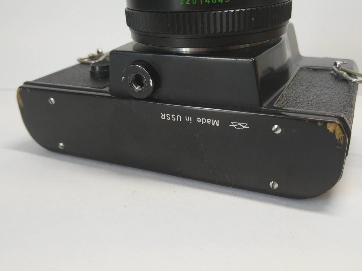 一眼レフゼニット Zenit-12SD TTL Helios-44M-4 BIOTAR #959B_画像6