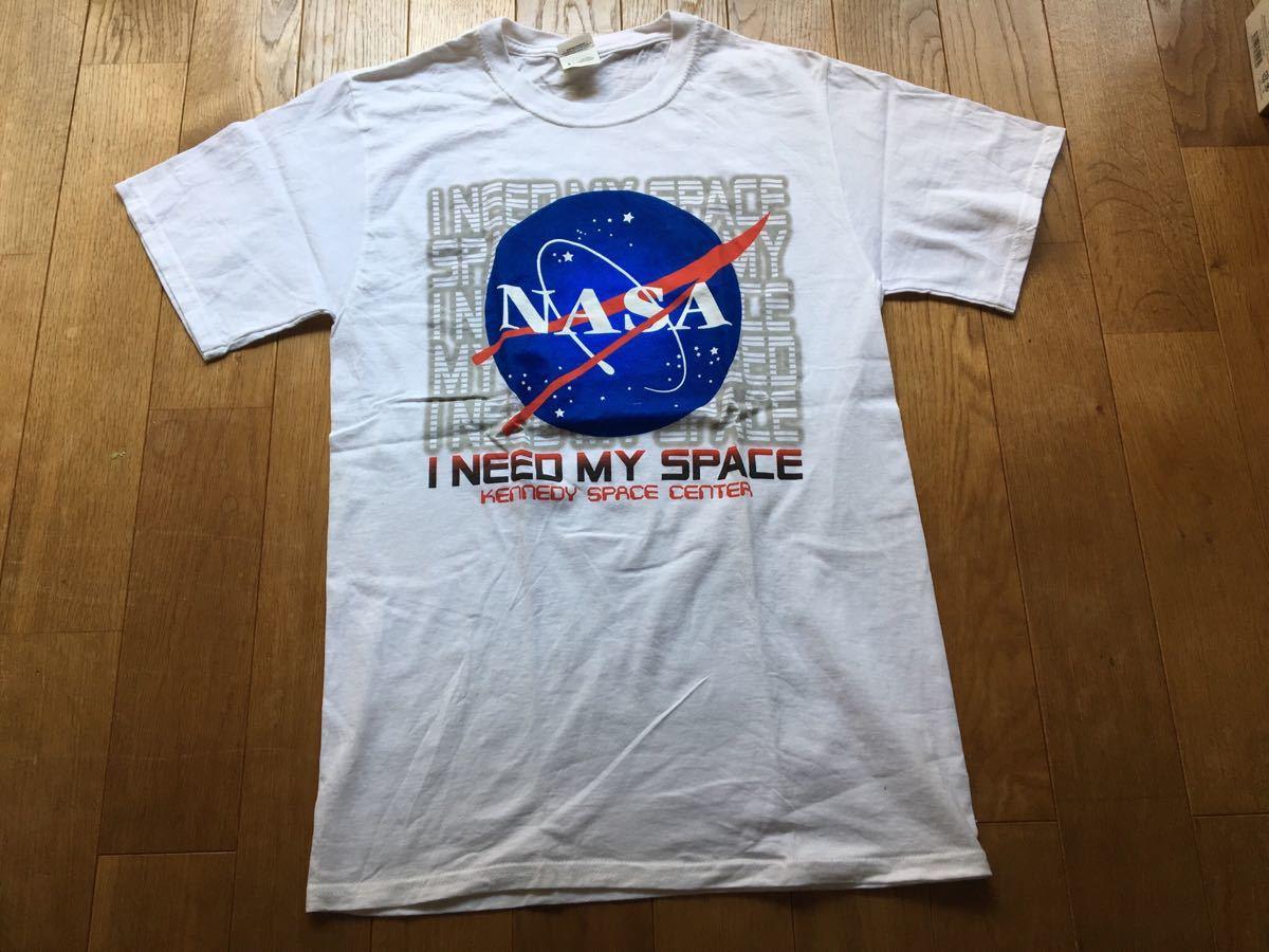 NASA Tシャツ ビンテージ 古着 90s 美品 ナサ プリント 宇宙 Sサイズ メンズ レディース_画像1