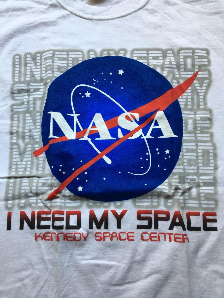 NASA Tシャツ ビンテージ 古着 90s 美品 ナサ プリント 宇宙 Sサイズ メンズ レディース_画像2