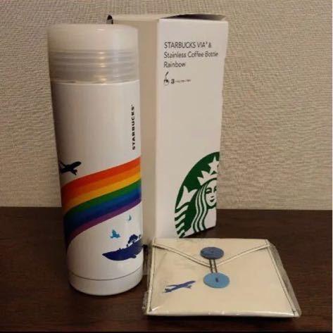 限定スターバックス ANA 機内販売 ANA ステンレスコーヒーボトル タンブラー_画像4
