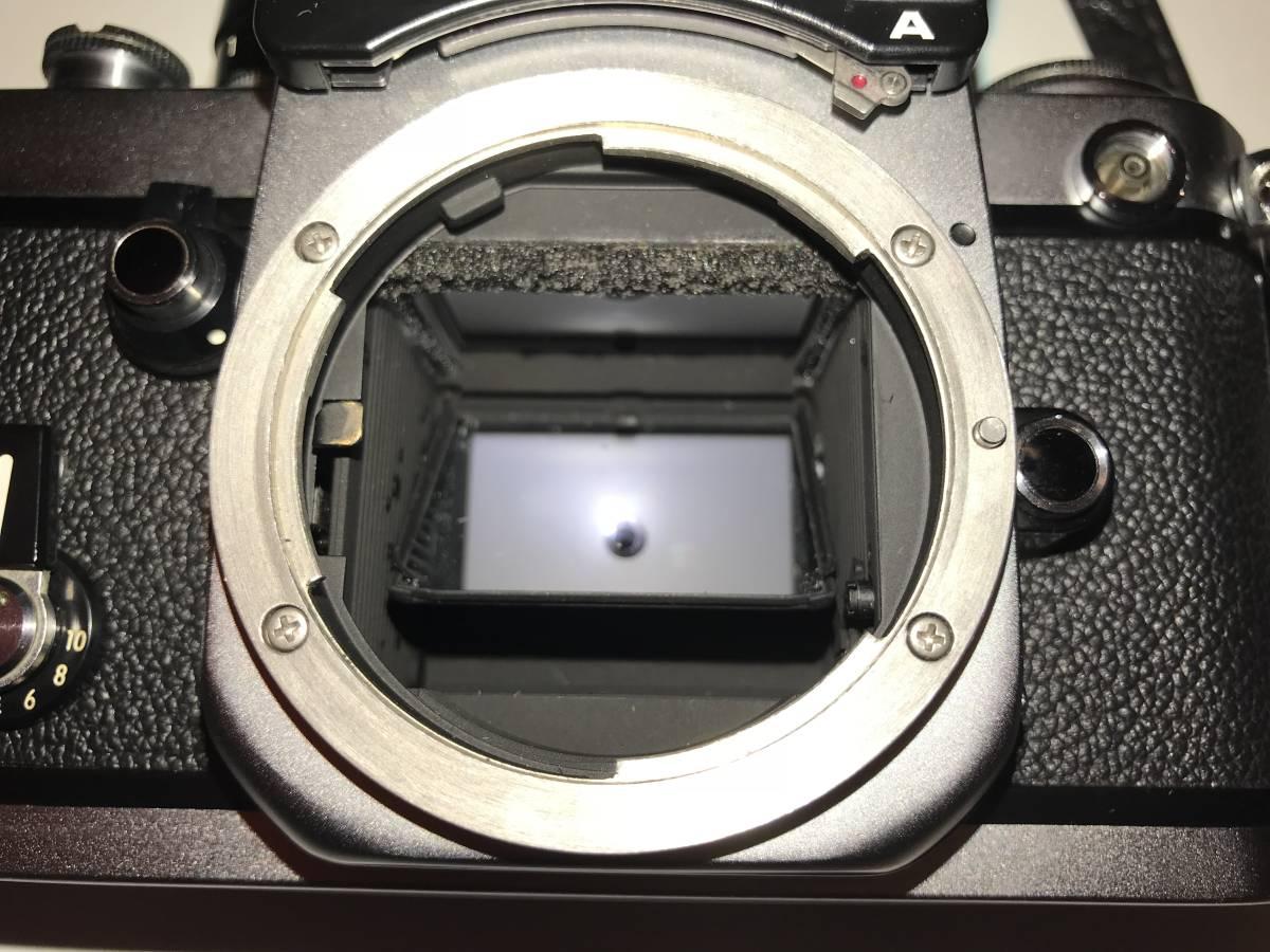 ★動作確認済・極上美品★ニコンNikon F2 フォトミック A ・フイルム一眼レフカメラ + Nikkor 35mm f 1:2レンズ&Nikkor 50mm f1:2_画像9
